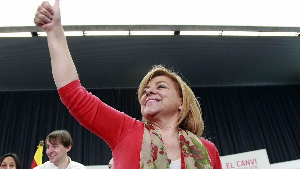 Elena Valenciano, candidata a las europeas, apoyada por González y Zapatero