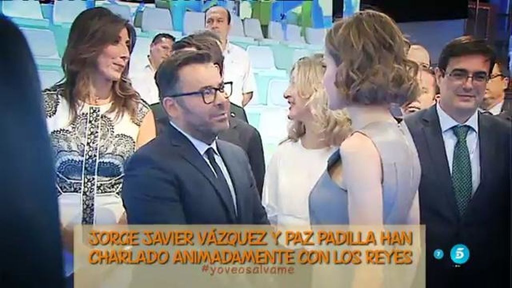 "Jorge Javier Vázquez: ""Me ha hecho mucha ilusión conocer a la Reina Letizia"""