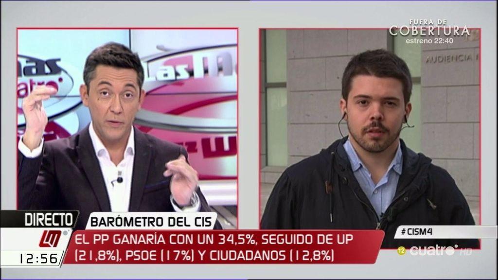 Nacho Corredor señala al PSOE por haber desmotivado al electorado