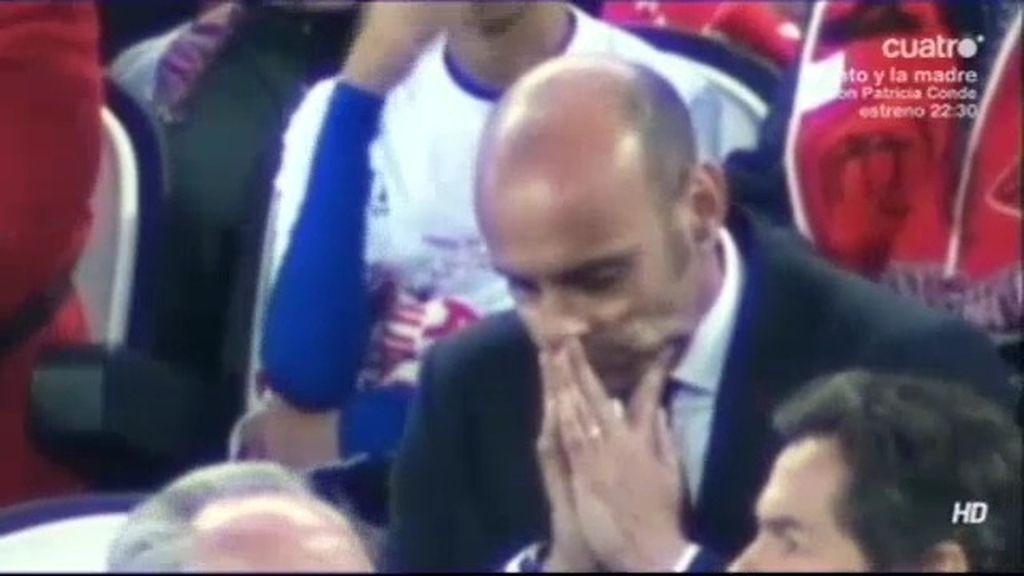 Monchi vivió como un hincha más su tercera Europa League