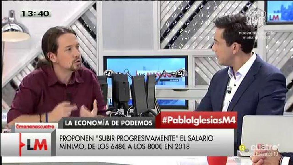 """Pablo Iglesias: """"Es un insulto que haya empresas del IBEX que pague solo un 5%"""""""