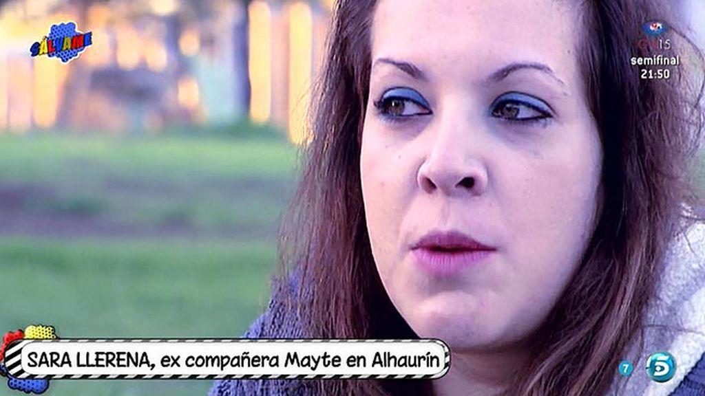 """Sara Llerena, expresa: """"Mayte Zaldívar es una más en la prisión, se adapta muy rápido"""""""
