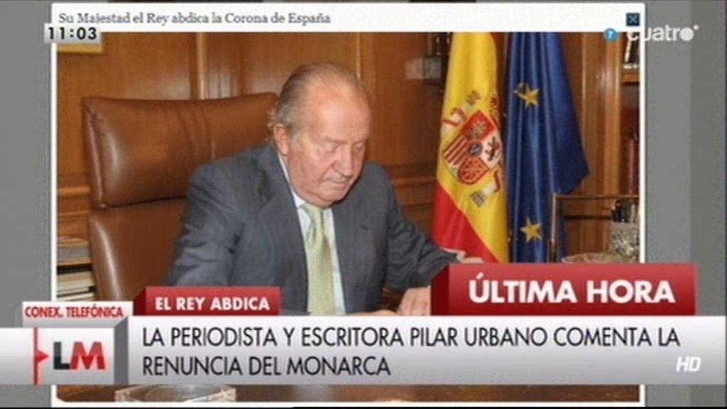 """Pilar Urbano: """"Podemos'  no tiene fuerza representativa para impulsar una República"""""""