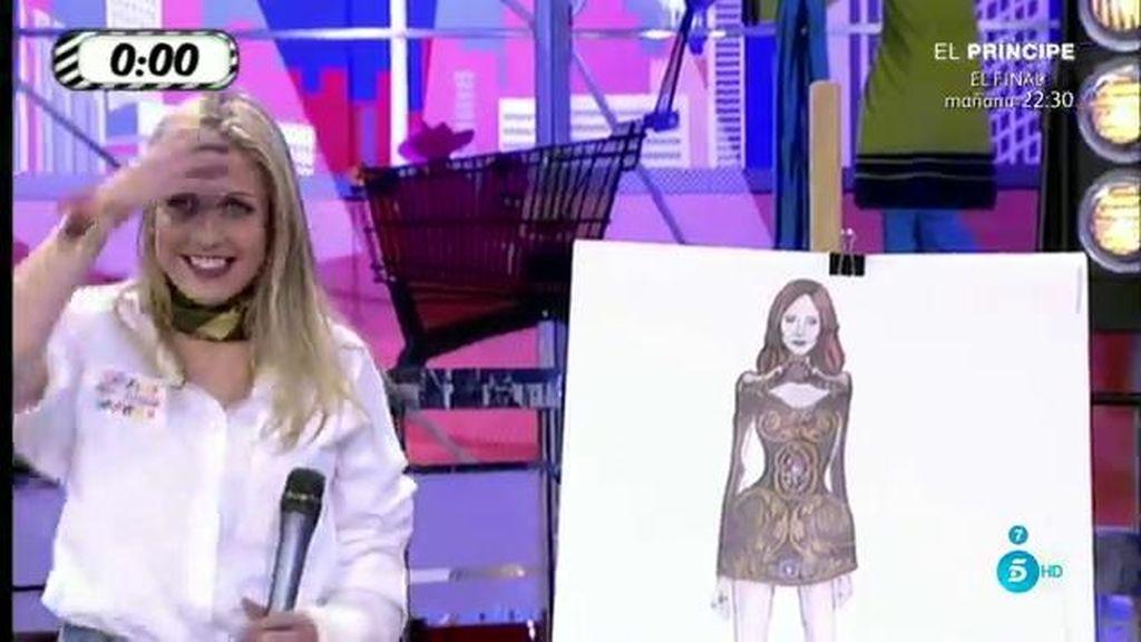 María Patiño lucirá un corsé del S.XVI modificado en vestido