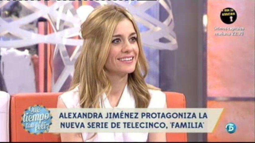 """Alexandra Jiménez: """"La audiencia ha sido un regalazo"""""""