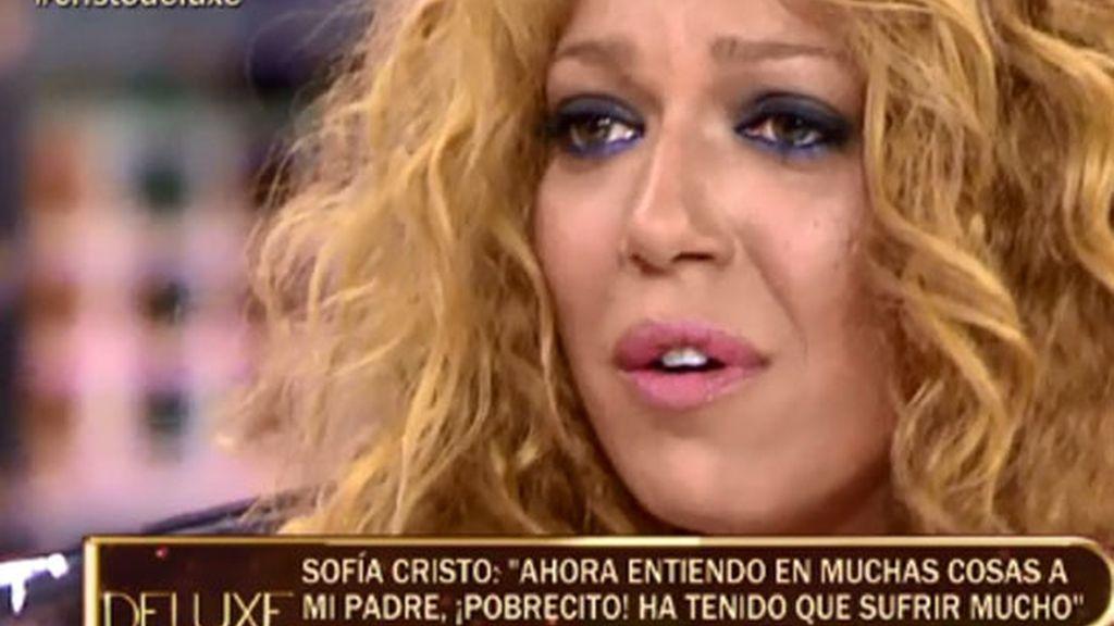 """Sofía Cristo: """"Ahora entiendo a mi padre. Ha tenido que sufrir mucho"""""""