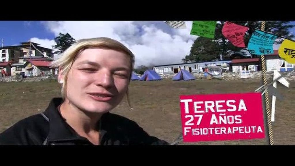 Teresa se presenta desde Nepal