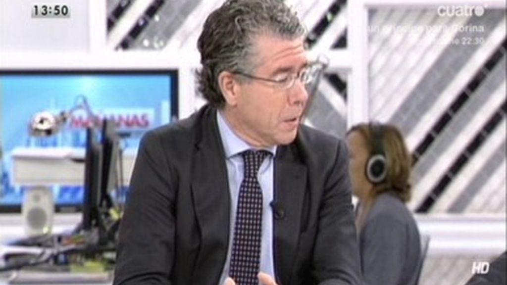 """Franciso Granados (PP): """"Tamayo vino a mi despacho pidiendo dinero"""""""