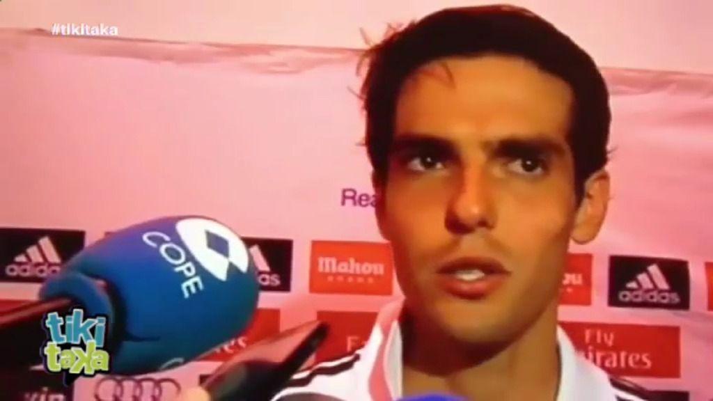 "Kaká explota: ""Quiero dejar el Real Madrid"""