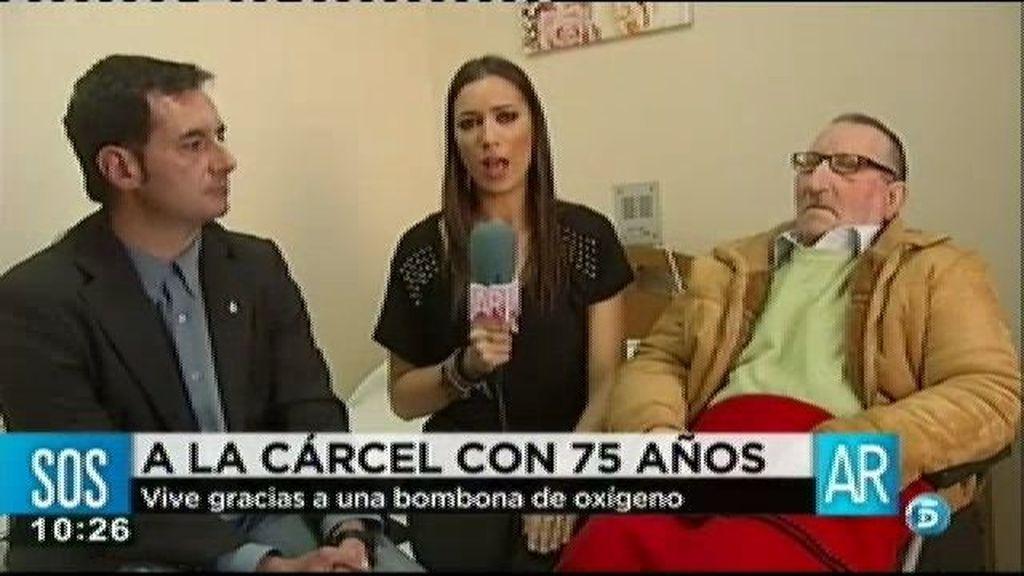 """Ángel: """"Queremos que cumpla la condena en un sitio adecuado"""""""