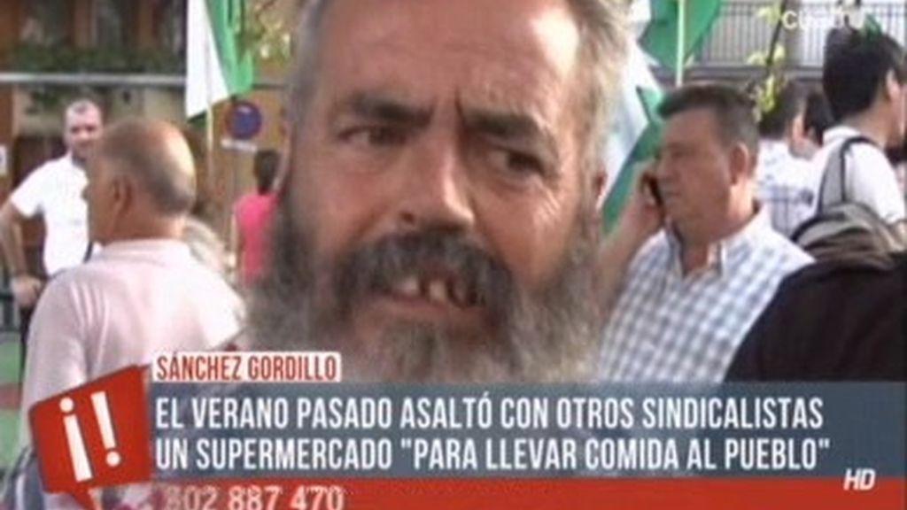 Sánchez Gordillo, el 'Robin Hood del s.XXI'