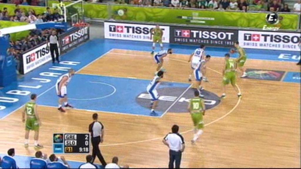Dragic empieza arrasando: ocho puntos en los dos primeros minutos