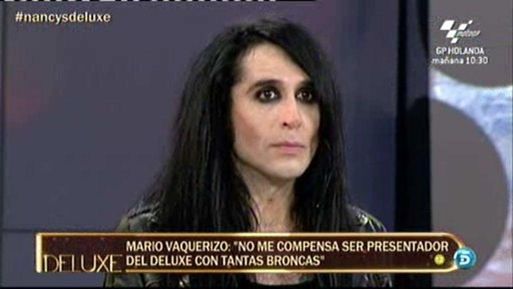 La broma de 'El Deluxe' a Mario Vaquerizo