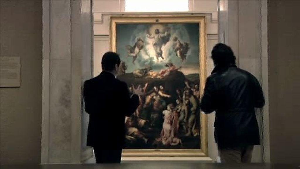 'Transfiguración del Señor', la comunicación entre este mundo y el más allá