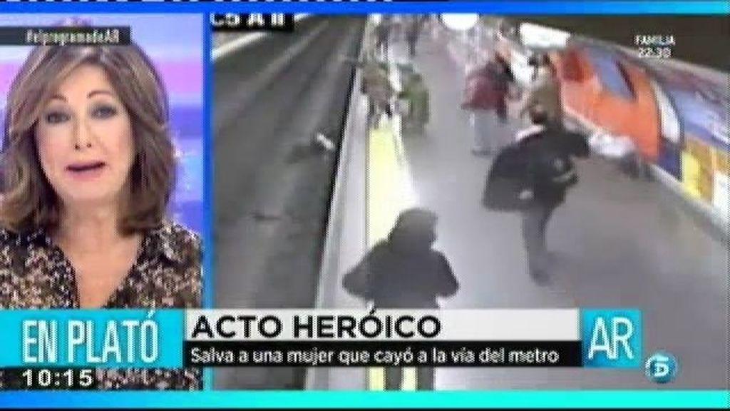 """Rubén: """"Cuando la estaba cogiendo escuché que venía el metro"""""""