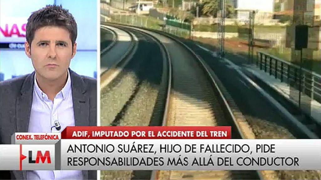 """Antonio Suárez, sobre el accidente de Santiago: """"Lo único que pedimos es que se sepa la verdad"""""""