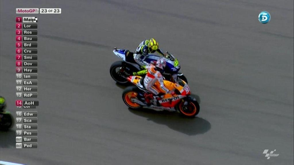 La última vuelta de MotoGP en Aragón