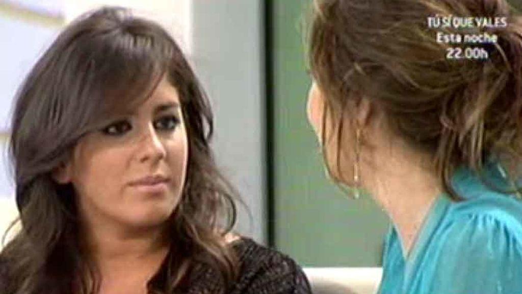 Las reacciones de Anabel Pantoja tras la emisión de 'Mi Gitana'