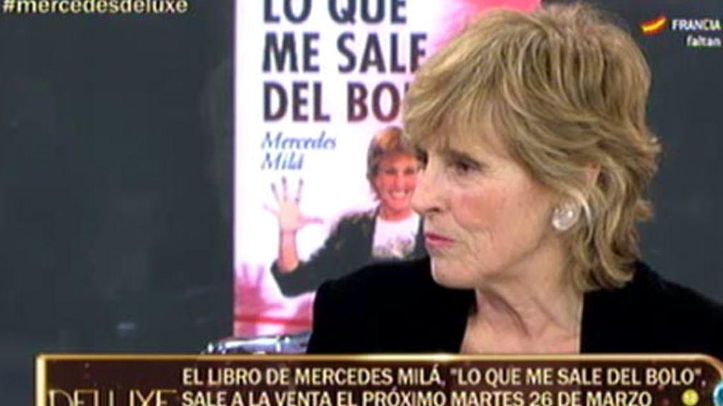 Mercedes Milá presenta su libro 'Lo que me sale del bolo' en El Deluxe