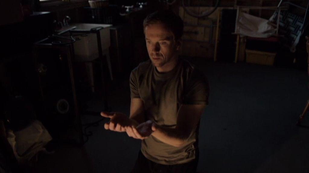 ¿Qué hace Brody en el garaje?