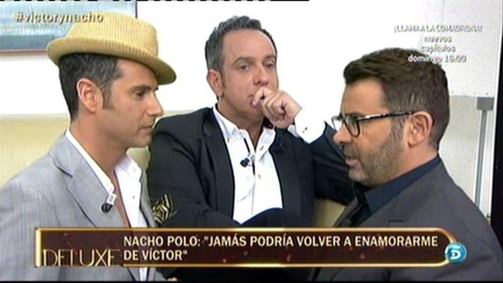 """Nacho Polo: """"Jamás volvería a tener relaciones con Víctor Sandoval"""""""