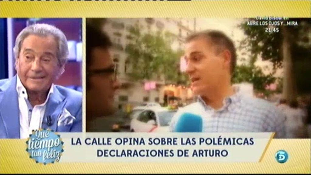 La calle responde a Arturo Fernández