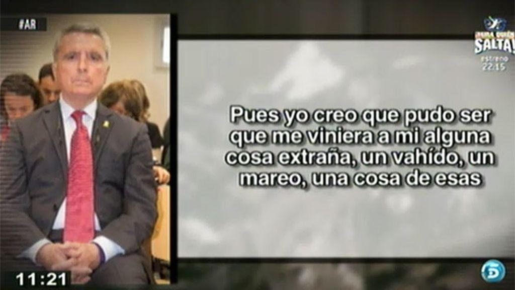 """Ortega Cano: """"Puede ser que me diera un mareo"""""""