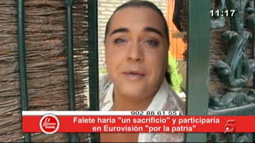 ¡Falete, a Eurovisión!