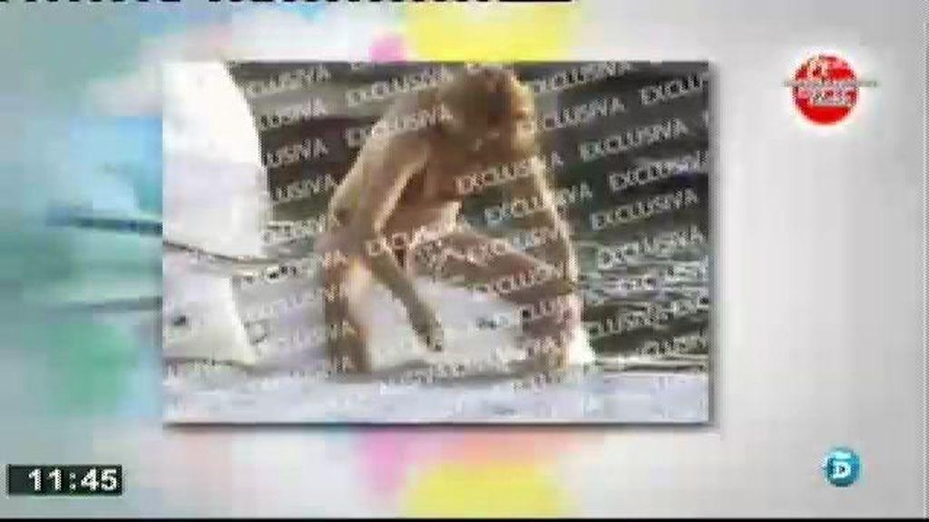 Paulina Rubio, pillada 'in fraganti' en alta mar