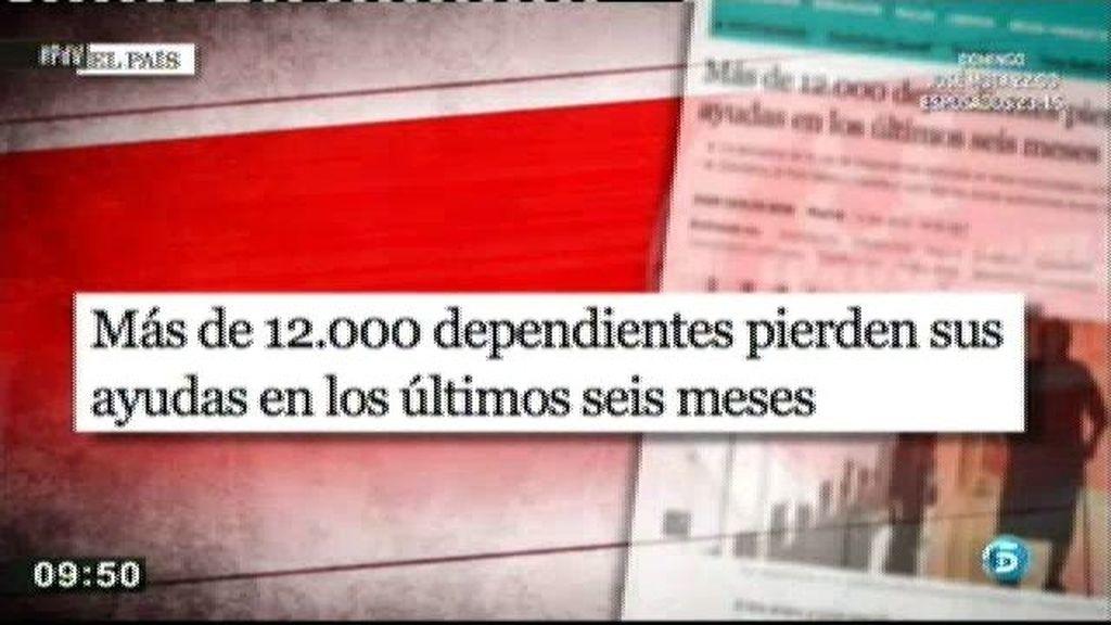 La aplicación de la ley de dependencia ha retrocedido en 13 comunicades