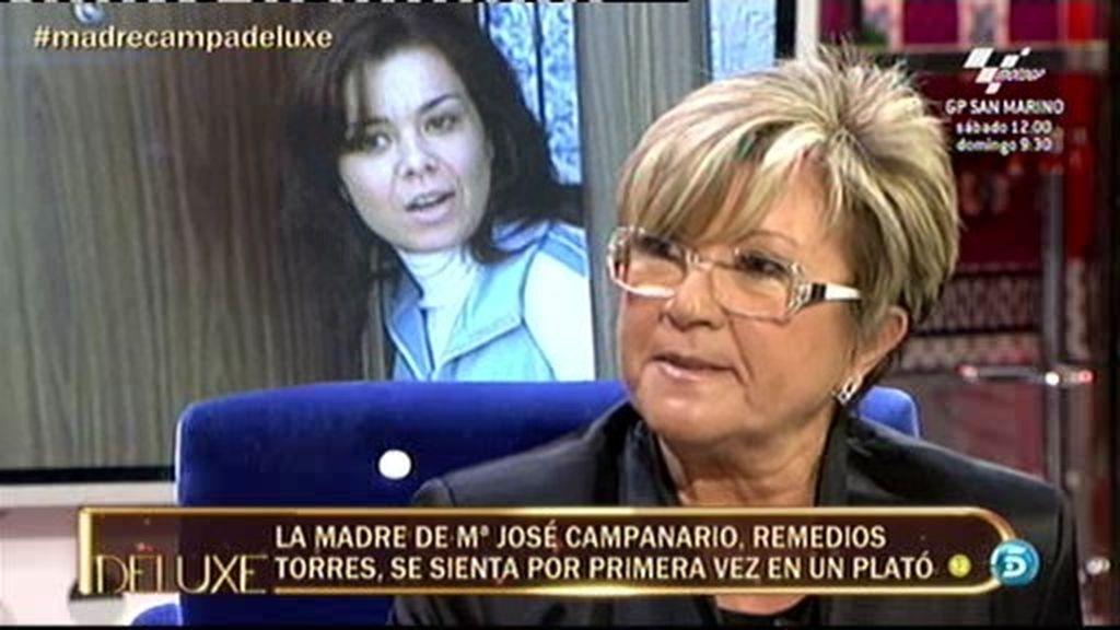 """Remedios Torres: """"Mi hija no está de acuerdo con que yo me siente en El Deluxe"""""""