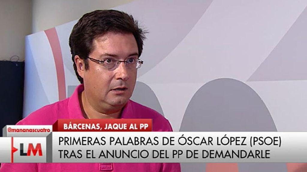"""Óscar López: """"Reitero lo que he dicho, es más, me muestro indignado"""""""