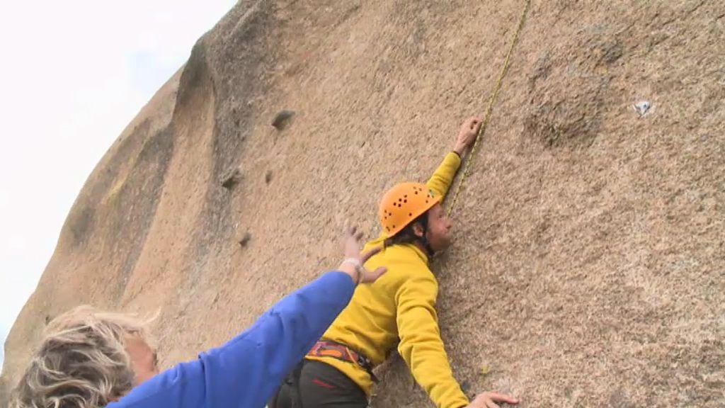 La escalada parecía no estar hecha para Edu Soto