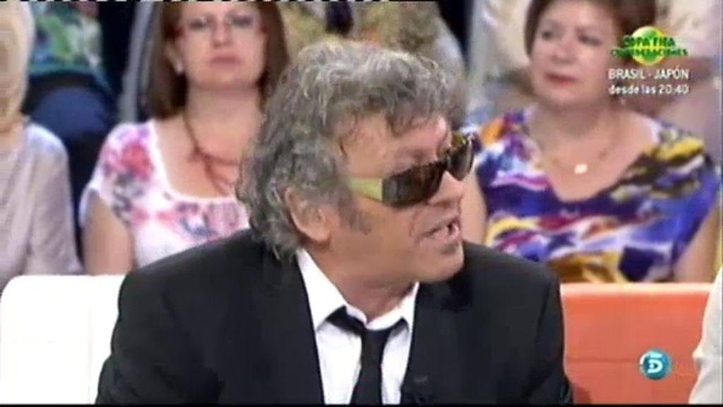 Lorenzo Santamaría recupera su éxito 'Para que no me olvides'