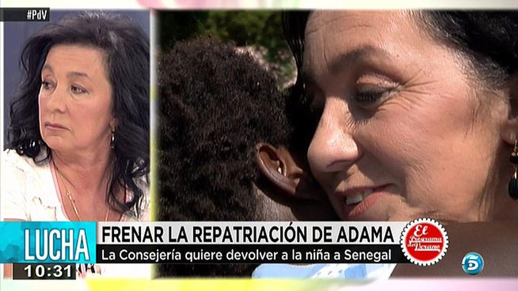 El Gobierno quiere repatriar a Adama, una niña senegalesa de 10 años que lleva 6 en España