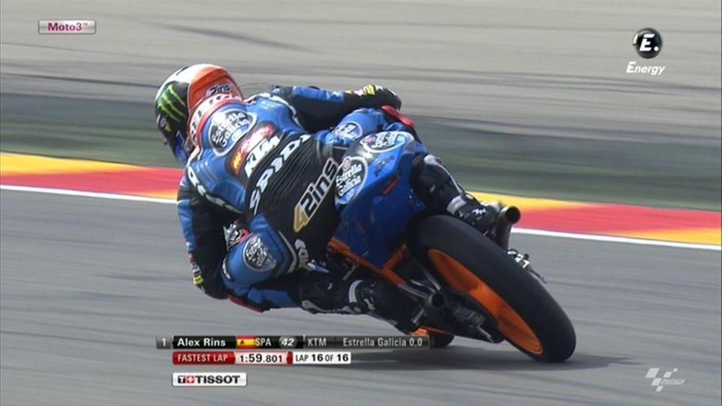La FP2 de Moto3 en Aragón, a la carta