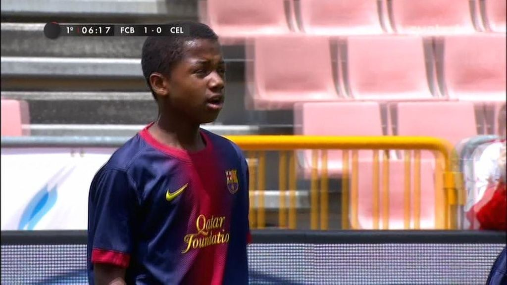 Gol: Barcelona 1-0 Celta (min.6)