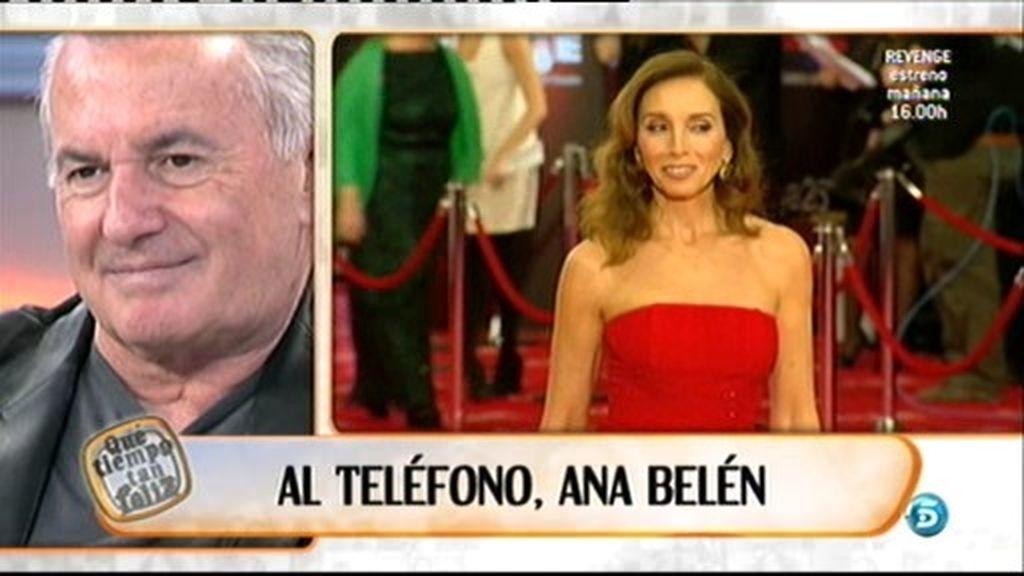 Al teléfono, Ana Belén