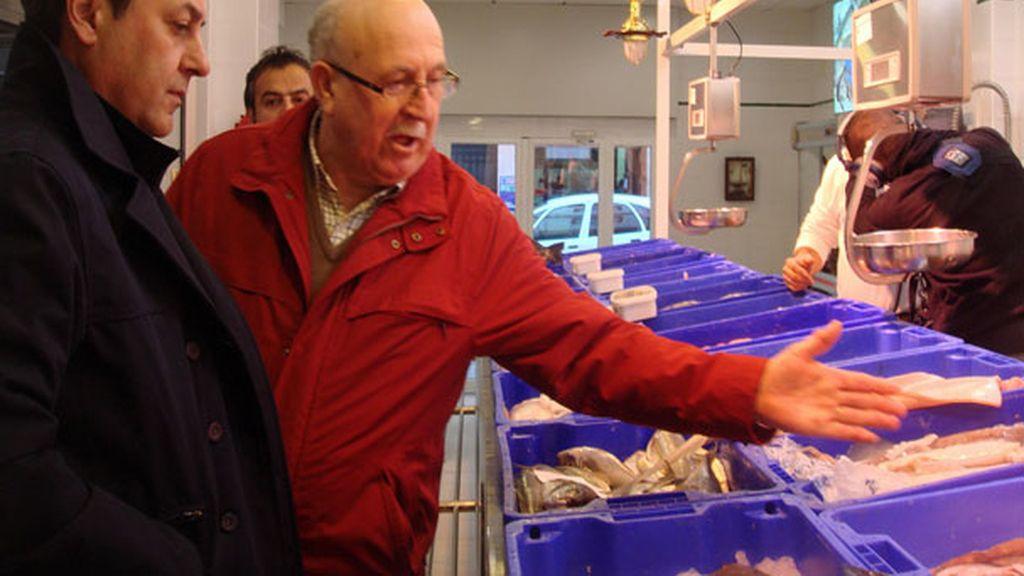 Así es la compra diaria de Miguel Palomo en el mercado