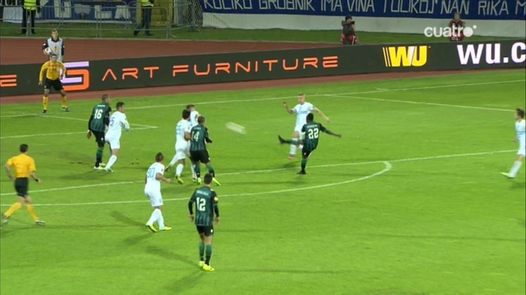 Gol de Cedric (Rijeka 1-1 Betis)
