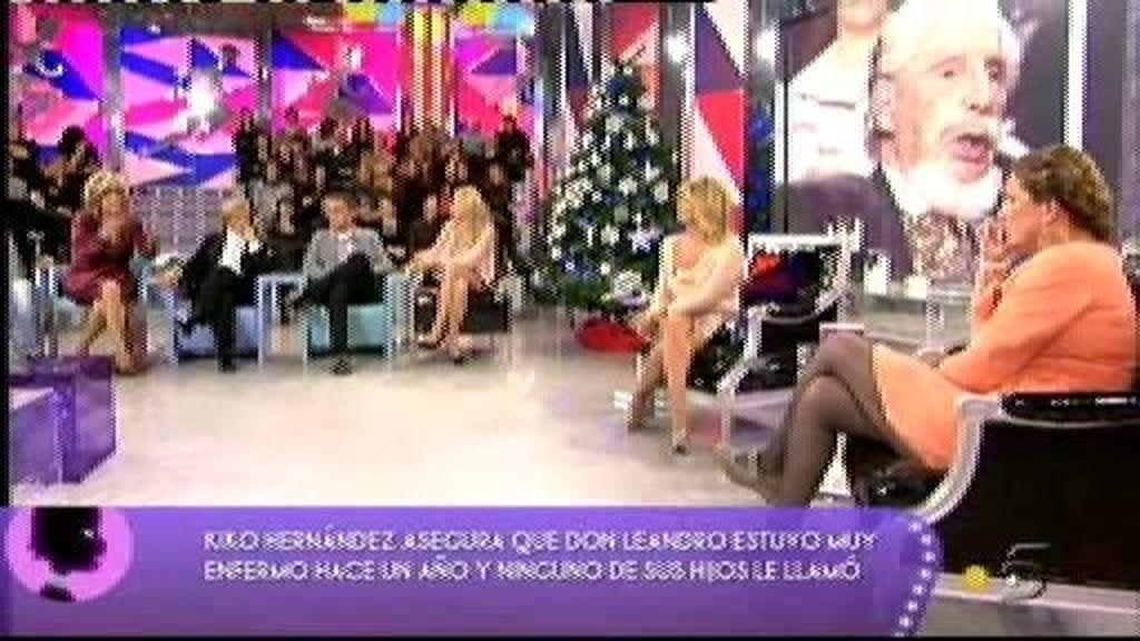 ¿Por qué Blanca y sus hermanos no tienen relación con Don Leandro de Borbón?