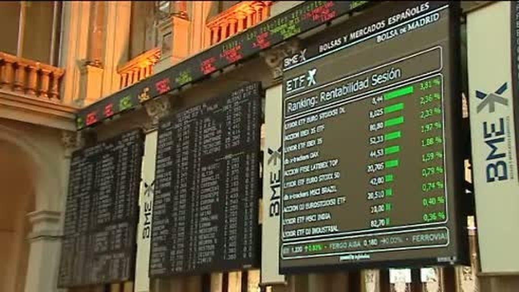 La Bolsa sube un 2,7 %