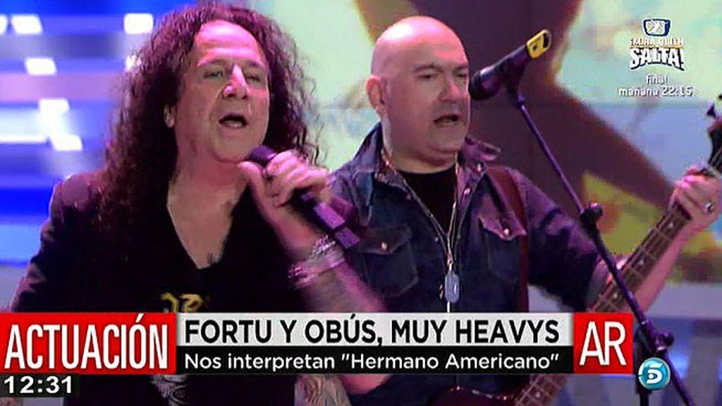 'Obús' canta en 'Hermano Americano' en 'AR'