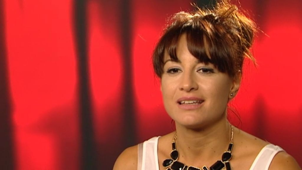 """Sandra Morales: """"La gente me oye hablar y no se imagina que pueda cantar así"""""""