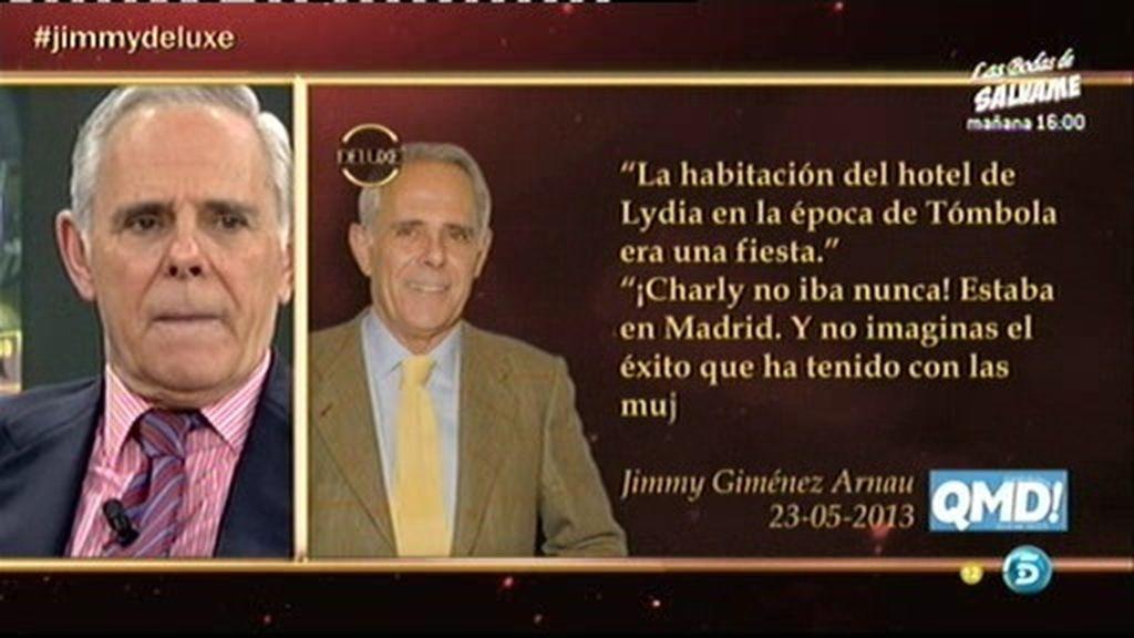 """Jimmy G.A.: """"La entrevista es una estupidez, Lydia y Chelo han montado un escándalo"""""""