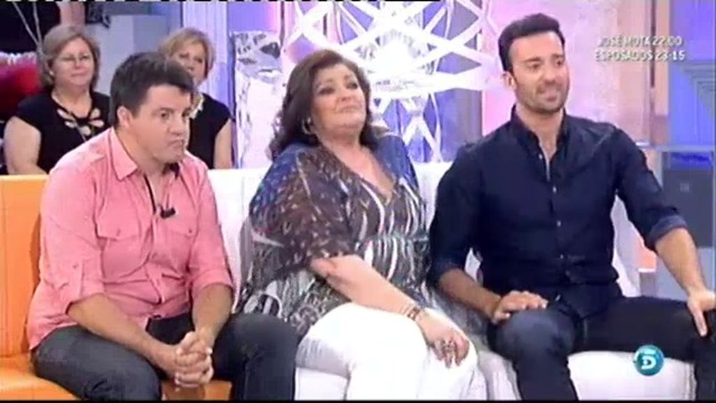Charo Reina, Pablo Pujol y Andoni Agirregomezkorta presentan 'Esposados'
