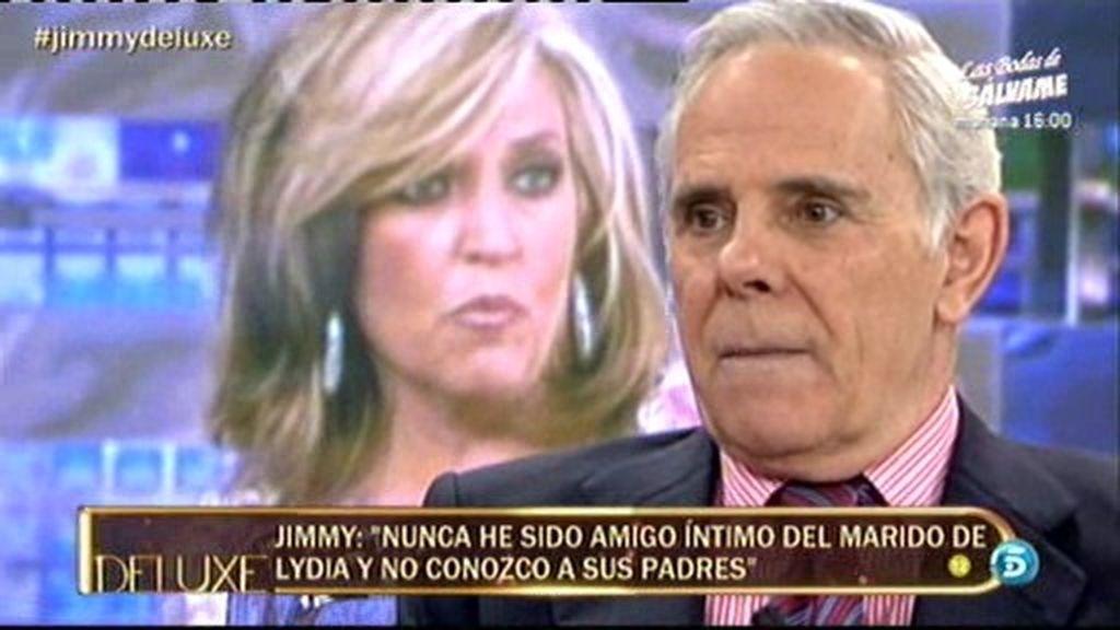 """Jimmy Giménez Arnau: """"El marido de Lydia es muy fiestero, pero eso no es nada malo"""""""