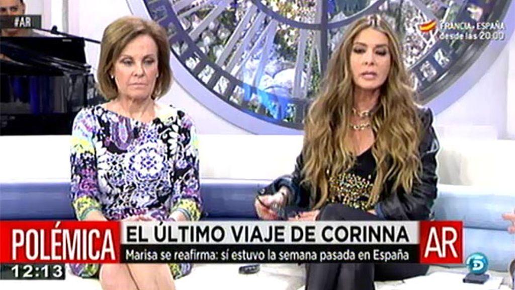 """Marisa Martín Blázquez: """"Casa Real tiene constancia de que Corinna no ha estado en España"""""""