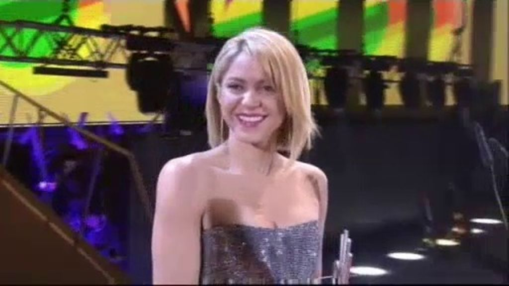Shakira, mejor artista internacional en lengua española