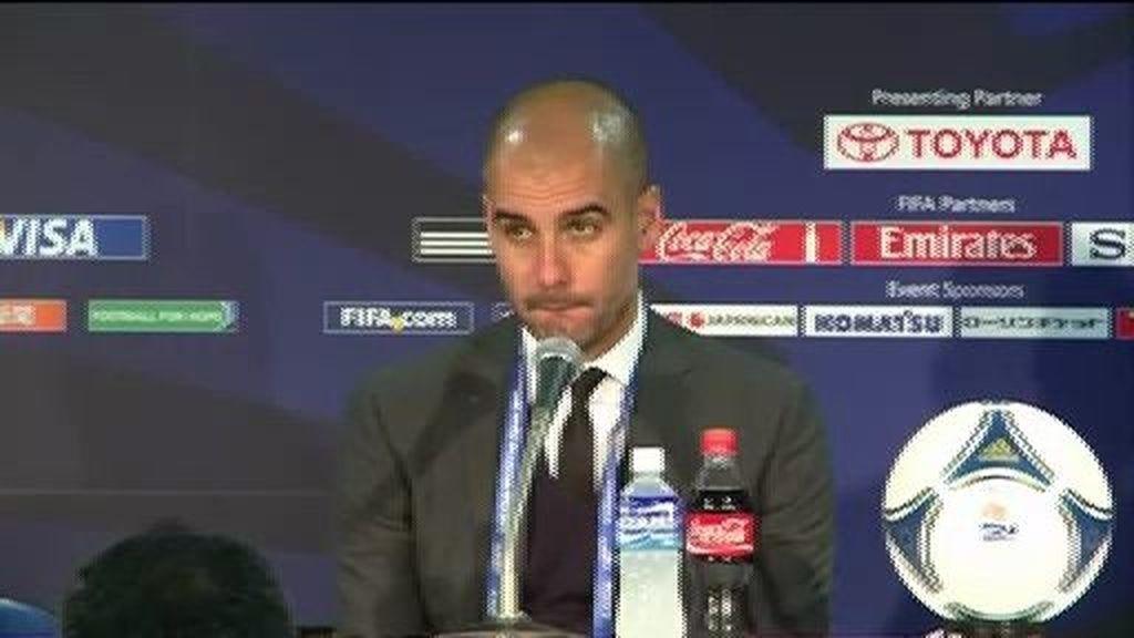 """Guardiola: """"Estas pérdidas te dejan mal cuerpo"""""""